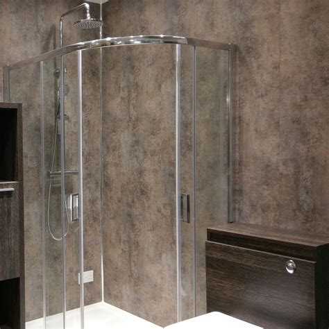 shower panels instead of tiles shower panels instead of tiles rebath oversized tile wall