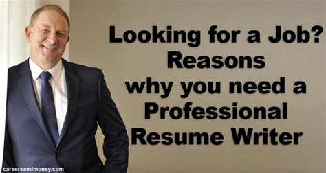 reasons why you need professional resume writer when