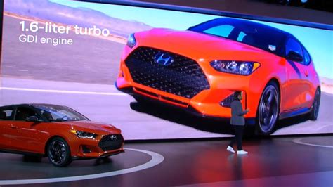 Update Motor Show 2019 : The Redesigned Hyundai Veloster Is The Hottest Car You'll