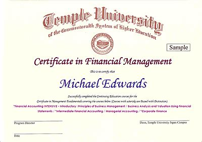 certificate programs continuing education