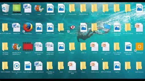 changer la taille des icones du bureau sous windows 10