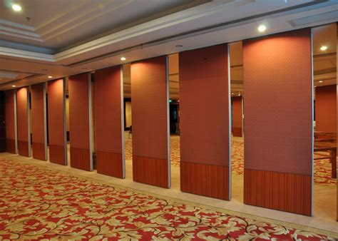 folding portable wall partitions hall partition wall