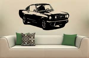 Ford Mustang Car Wall Mural Decal Sticker