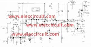 Ultrasonic Sensor Circuit Project With Versatile Controls