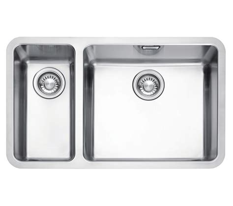 franke stainless steel undermount kitchen sinks franke kubus kbx 160 55 20 stainless steel 1 5 bowl 8265