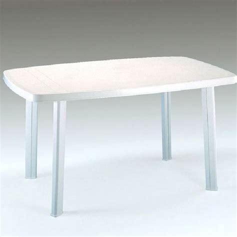 Table De Jardin Blanche table de jardin en r 233 sine blanche 4 places faro achat