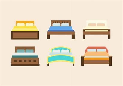 Vector Furniture Double Beds Clipart Vecteezy Vectors