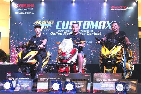 Nmax 2018 Bandung by Nmax Bandung Jadi Jawara Customaxi Yamaha 2018