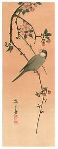 Utagawa Hiroshige: Bird and Cherry - Artelino - Ukiyo-e Search