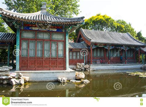 Asien China, Peking, Xuanwu Yiyuan, Sommerlandschaft, Hof