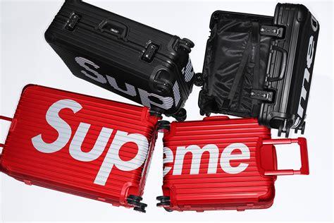 Supreme X Rimowa Spring 2018 Luggage Collection