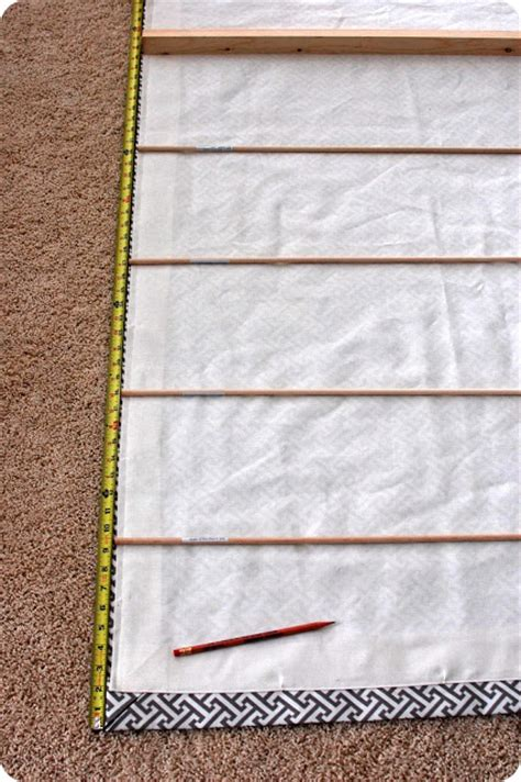 33 Shades Of Green Tutorial  How To Sew A Roman Shade