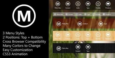css template top bar 10 best useful css3 navigation menus softstribe