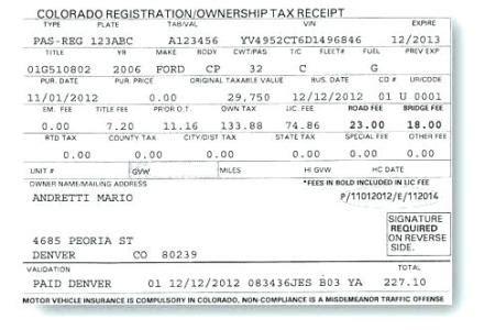 colorado motor vehicle registration renewal impremedia net