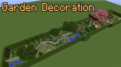 Minecraft Garden Decoration Ideas! Youtube