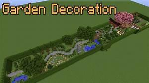 Minecraft Garden Decoration Ideas! - YouTube