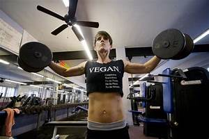Vegans Muscle Their Way Into Bodybuilding