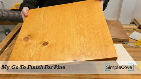 quick  easy stain  pine   great results