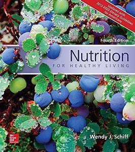 Nutrition For Healthy Living Updated With 2015