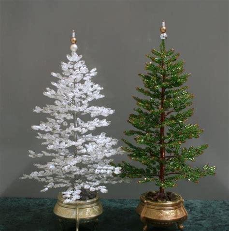 tannenbaum aus draht und perlen basteln dekoking