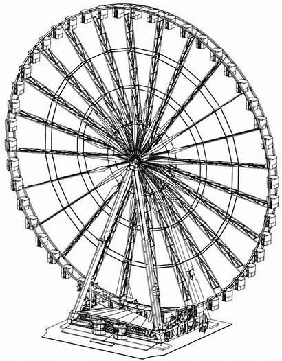 Mondial Wheel Champs Observation Grace Paris Ride