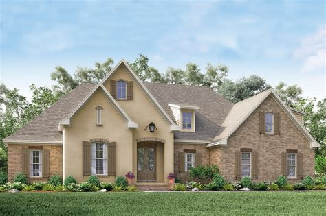 Acadian House Plan #1421154 4 Bedrm, 2210 Sq Ft Home Plan