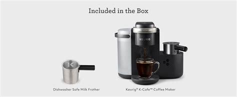 4.6 out of 5 stars 712 ratings. Keurig - K-Cafe Single Serve K-Cup Coffee Maker - Dark ...