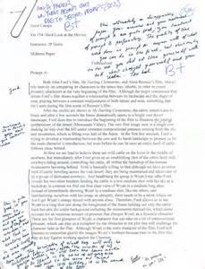Film Analysis Essay Examples