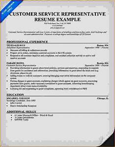 Excellent customer service resume examples resume for Excellent resume example