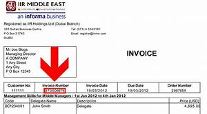 iir accounts management home With invoice numbering system