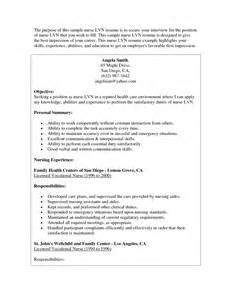 resume exle objectives 19 images front of house