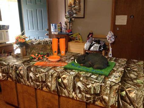 hog hunting birthday party hog cake camo hunters