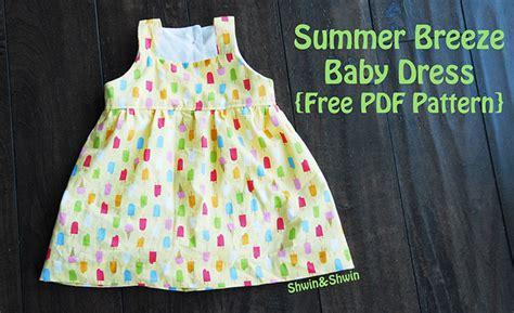 summer breeze baby dress   pattern shwin  shwin