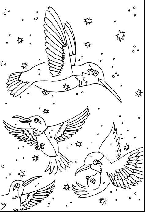 Good Printable Hummingbird Coloring Pages Coloringsuitecom