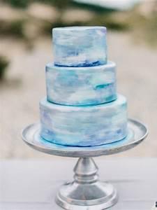 watercolor wedding cake wedding ideas 100