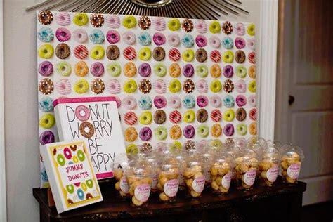 karas party ideas donut themed birthday party karas