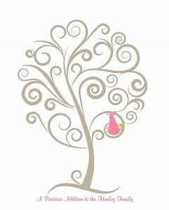 15 best tree template images on pinterest tree templates With baby shower thumbprint tree template