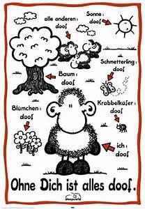 Alles Ist Doof : sheepworld ohne dich ist alles doof poster 61x91 5 ~ Eleganceandgraceweddings.com Haus und Dekorationen