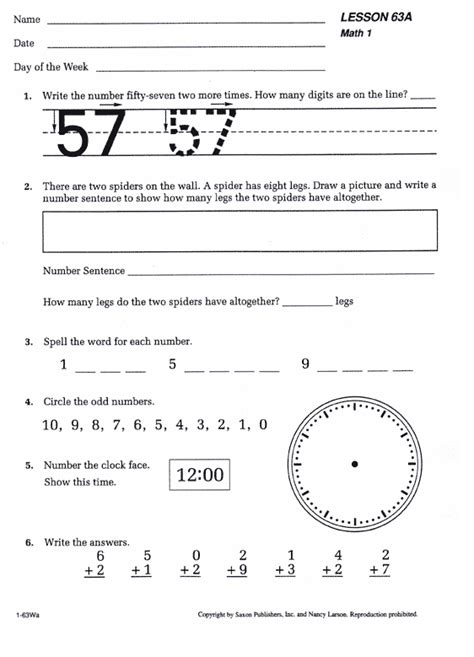st grade saxon math package curriculum bookshark