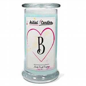 letter b initial jewelry candles osi With large letter candles