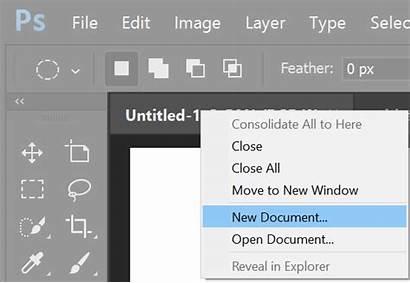 Photoshop Adobe Document Create Documents Using Software