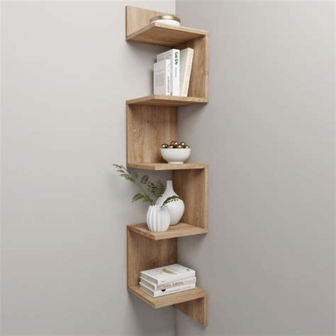 corner shelf  decor cgtrader