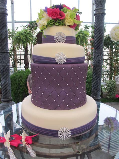 bling wedding cakes purple bling bling wedding cake purple chocolat home