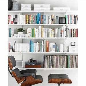 White elfa décor Bookshelf