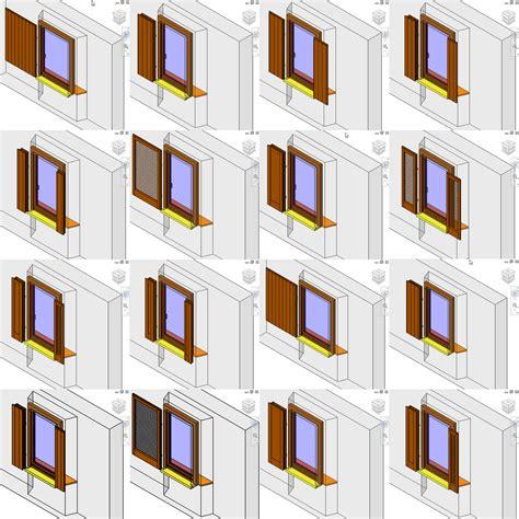 revit librerie laboratoriorevit finestre quot serie 3da quot infisso ad 1 anta