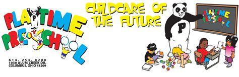playtime preschool columbus oh licensed child care center 404   logo Banner