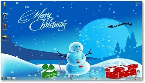 windows 7 themes christmas theme for windows holiday themes