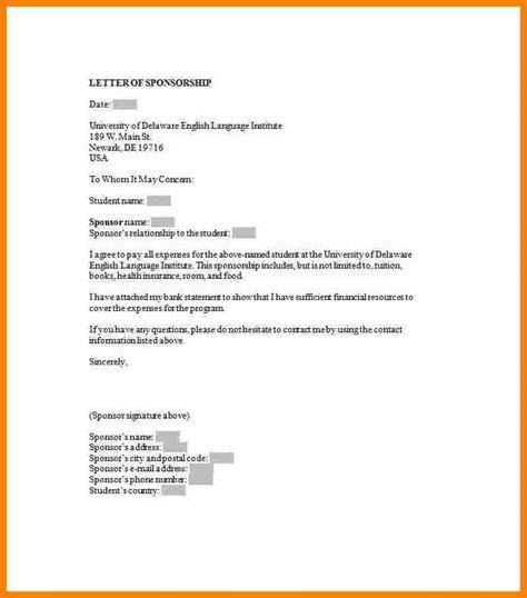 sponsorship introduction letter introduction letter
