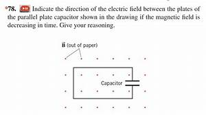 Electric Field Direction In Capacitor