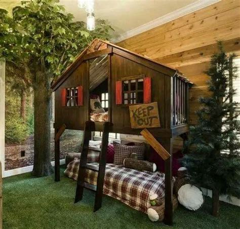Tree House Bunk Beds For Sale - pottery barn tree house bunk bed home decor